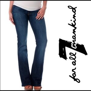 7 For All Mankind Maternity Jeans 👖 Size 25